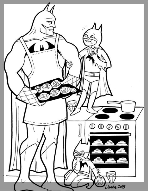 Supersofte Helden*innen als Malvorlagen:)